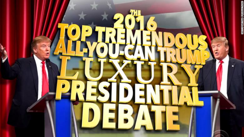 trump colbert debate