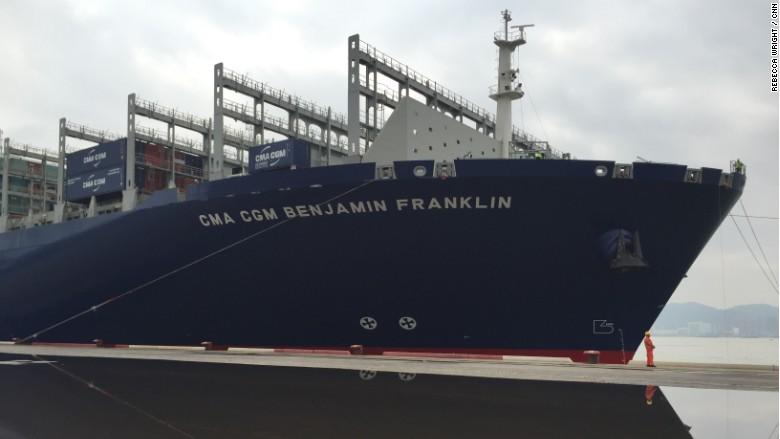 Benjamin Franklin container ship