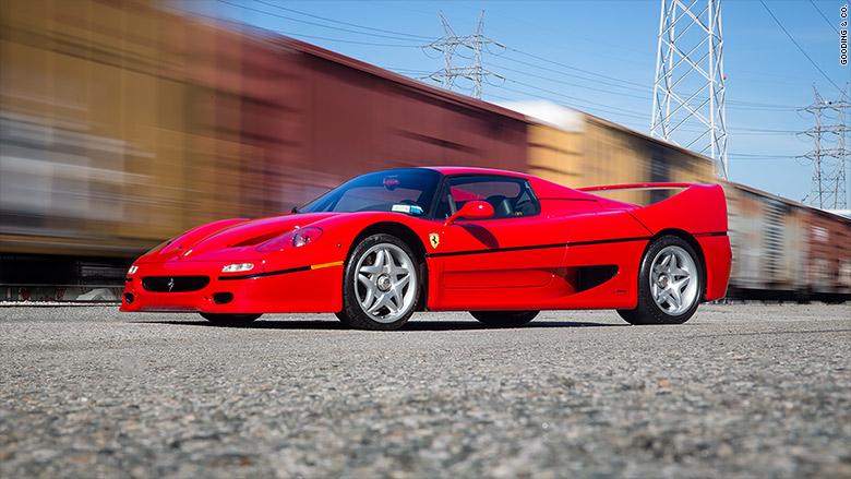 Ferrari f50 coupe