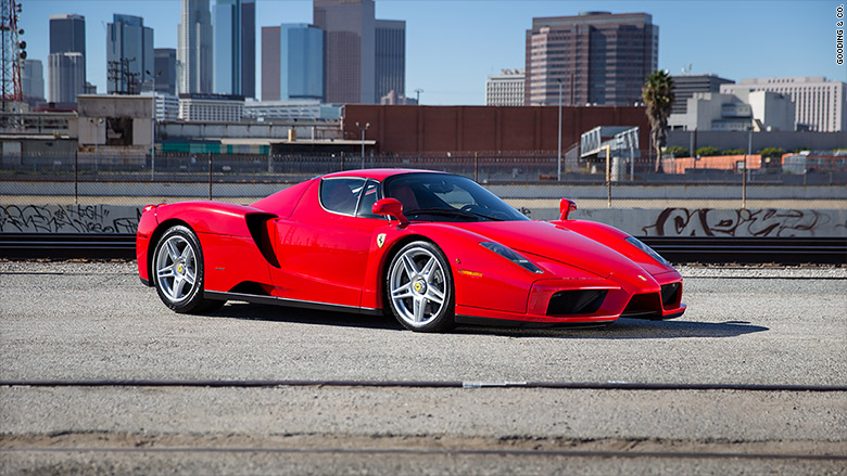 2003 ferrari enzo coupe - most expensive collector cars from the