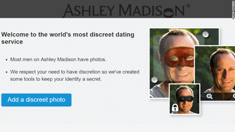 ashley madison mask