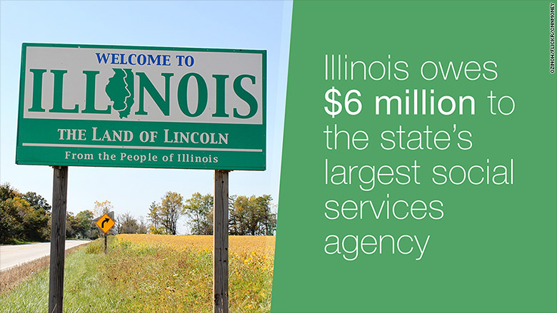 illinois owes 6 million