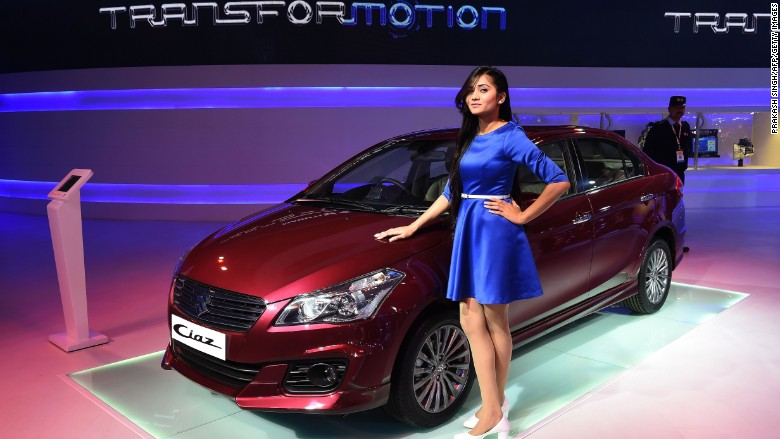 Indias Accelerating Growth Revs Up Car Sales - Auto show car sales