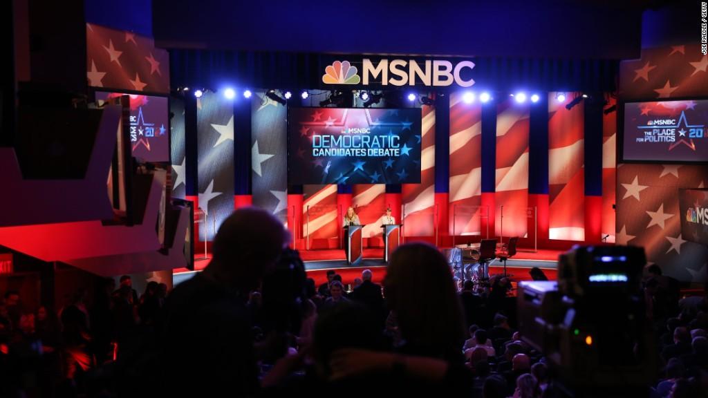 MSNBC's Democratic debate in 90 seconds