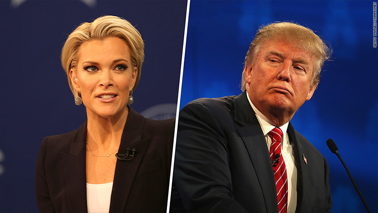 megyn kelly donald trump split