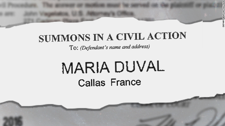 maria duval court summons