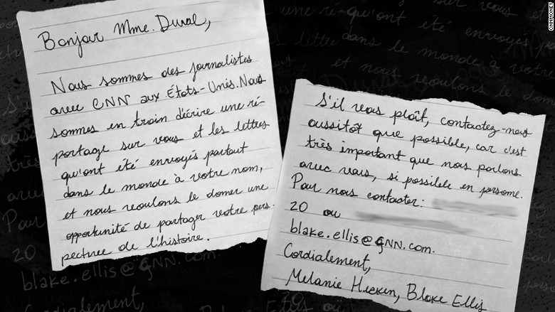 maria duval 5 mel blake letter