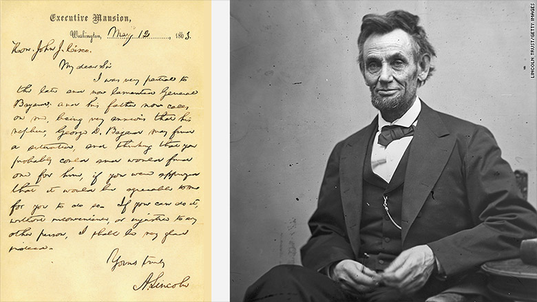 How Abraham Lincoln tried to get someone a job