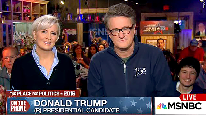 morning joe trump