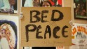 John Lennon bed peace