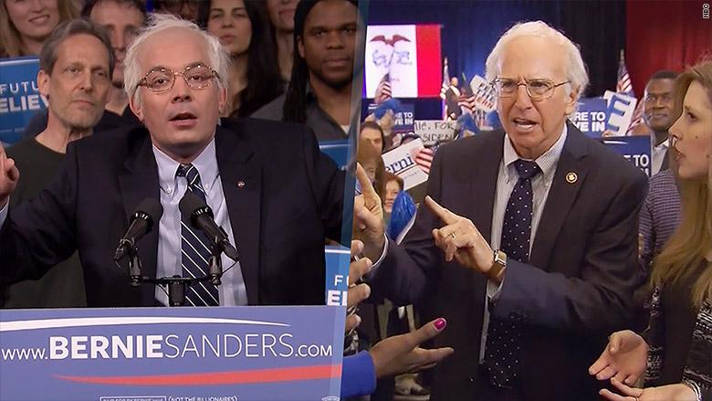 sanders NBC spoofs
