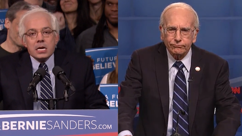 Jimmy vs Larry: Who does a better Bernie?