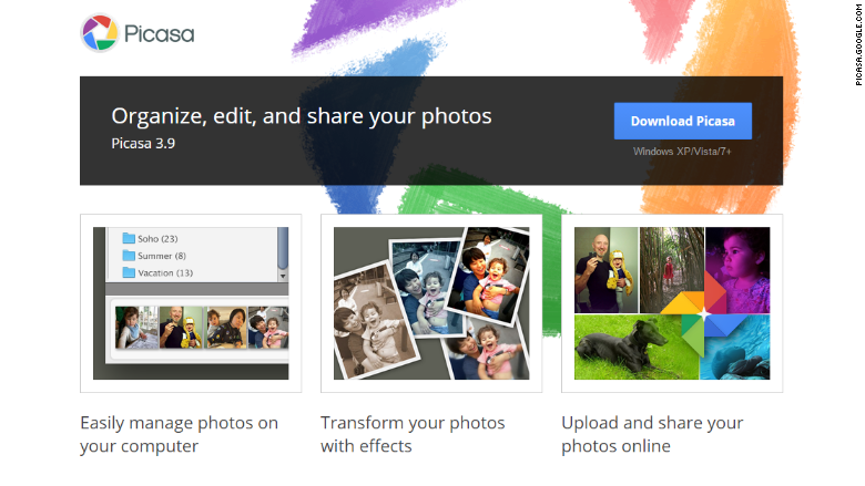 picasa screen shot