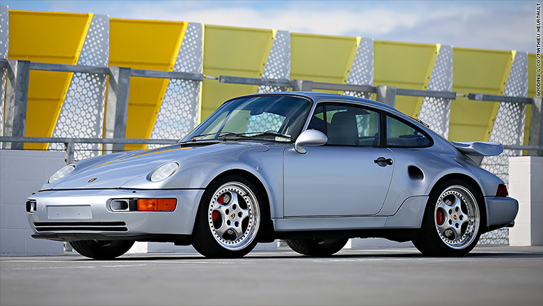 1994 Porsche 911 Turbo 36 Archived Road Test Review Car