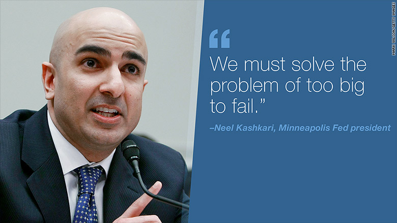 neel kashkari too big to fail