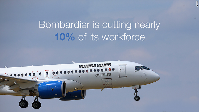 bombardier cutting work