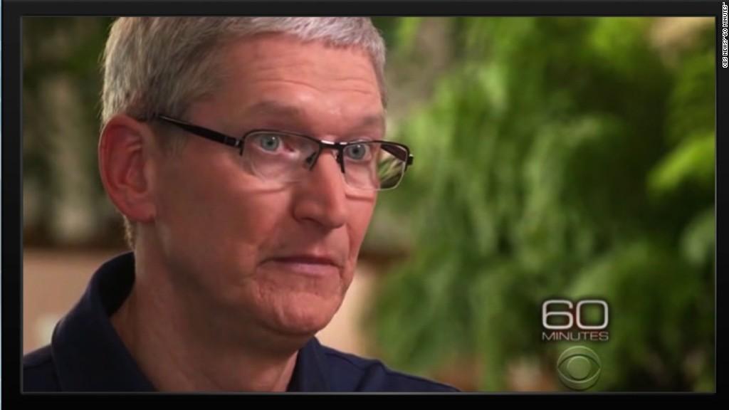 Apple CEO slams court ruling on terrorist's iPhone