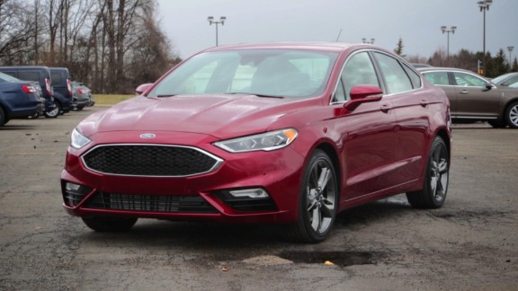 New Ford Fusion skips over potholes