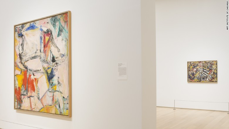 de kooning pollock art institute
