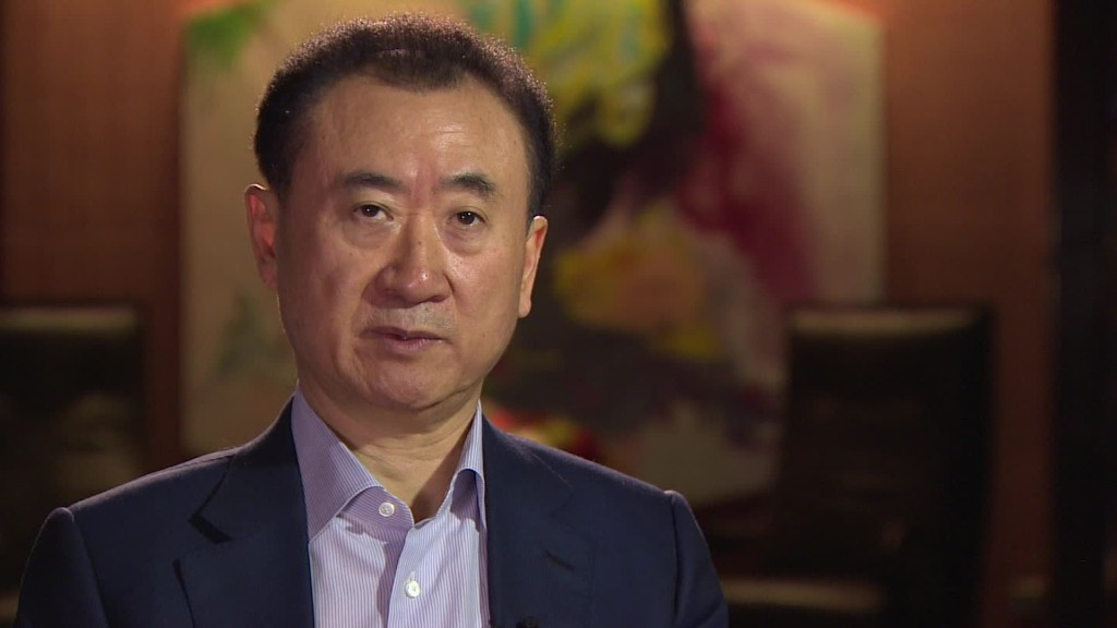China's richest man has global ambitions