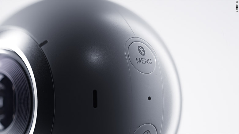 samsung gear 360 close up