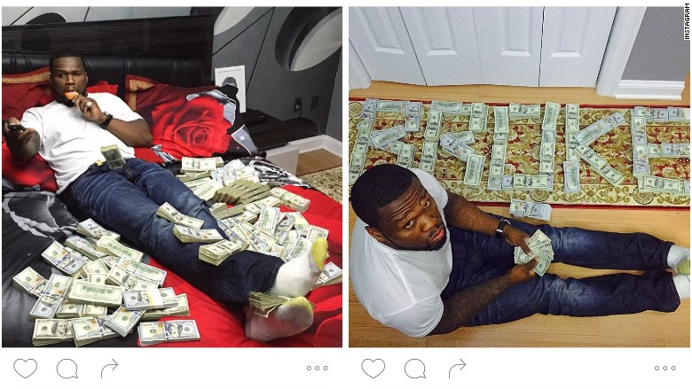 50 cent instagram cash