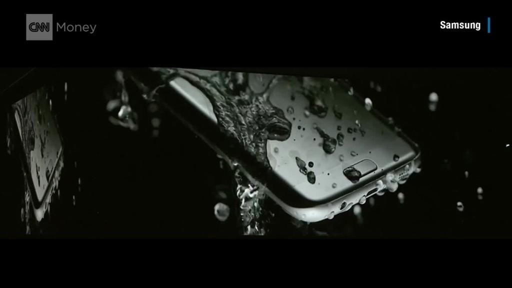 See Samsung's new waterproof phones