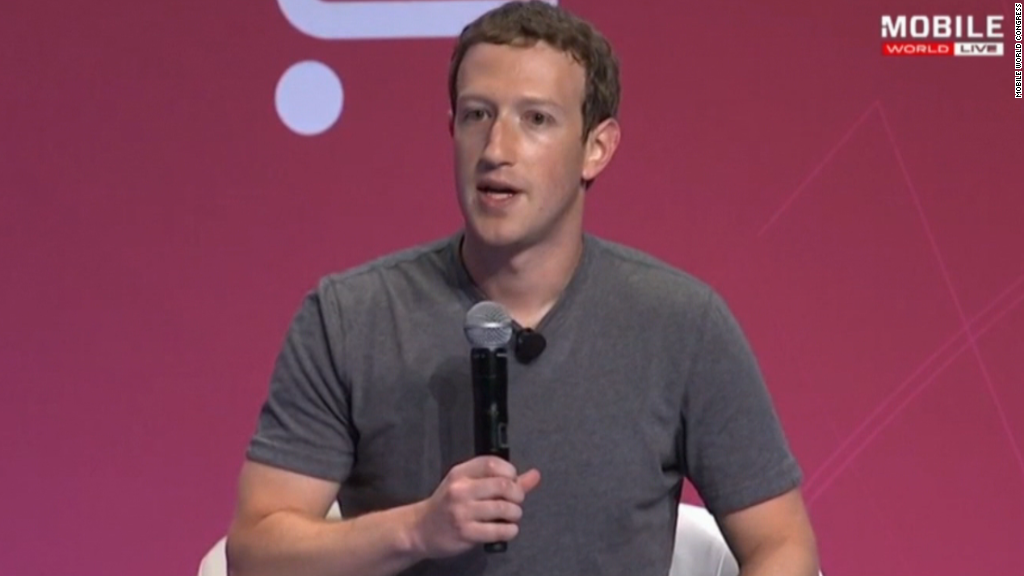 Facebook CEO: 'We're sympathetic with Apple'
