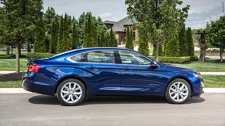 consumer reports 2016 chevrolet impala