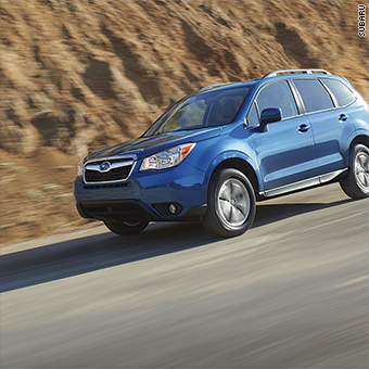 The Subaru Forester Ranked At Top Of Consumer Reports List Best Cars For Older Drivers