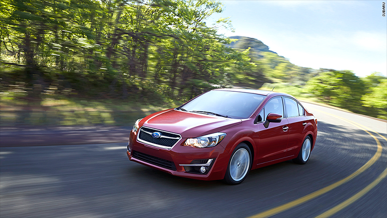Compact Car Subaru Impreza 3 Of 10 Consumer Reports 2016