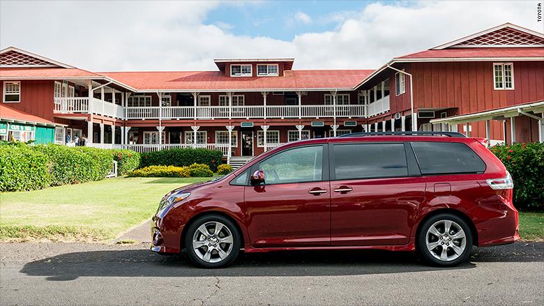 minivan toyota sienna consumer reports 39 39 top picks 39 for cars cnnmoney. Black Bedroom Furniture Sets. Home Design Ideas