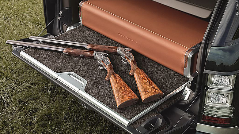holland range rover trunk