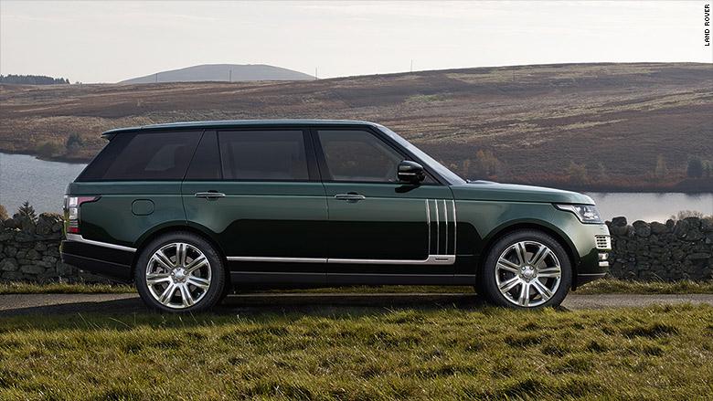 Land Rover Unveils 245 000 Suv