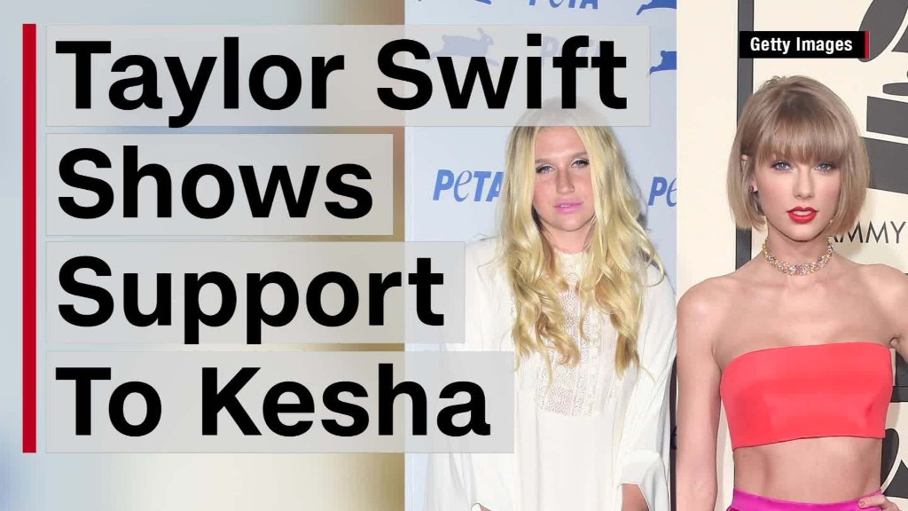 Taylor Swift gives $250,000 to Kesha