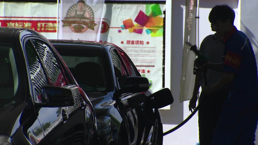 Why aren't gas prices falling in China?