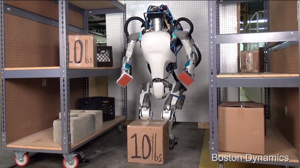 Meet Google's newest robot, Atlas