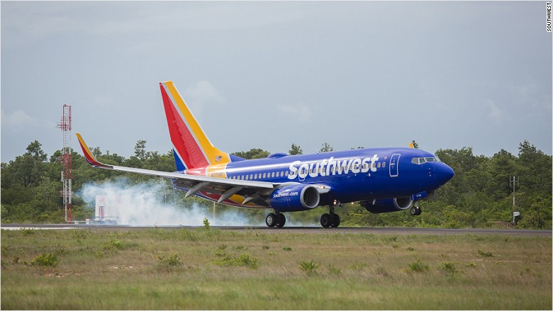 Southwest aircraft WiFi