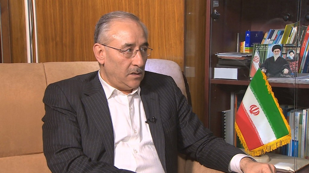 Iran's deputy oil minister: We won't sanction ourselves