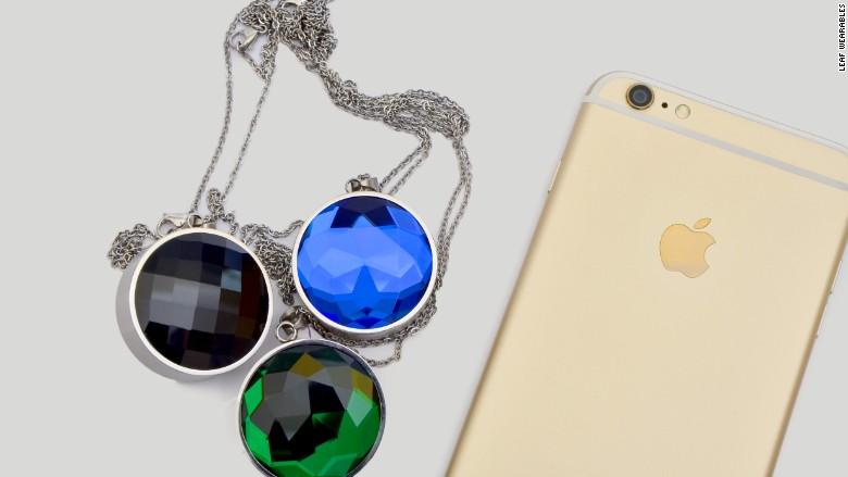 Leaf Wearables Smart Jewelry Is Designed To Keep Women