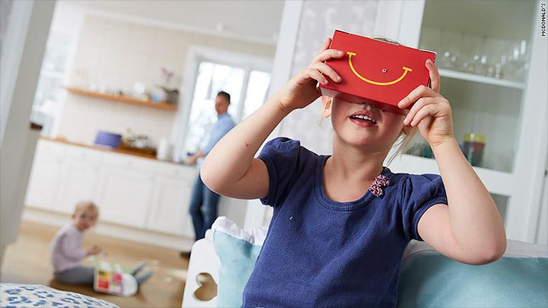 mcdonalds virtual reality