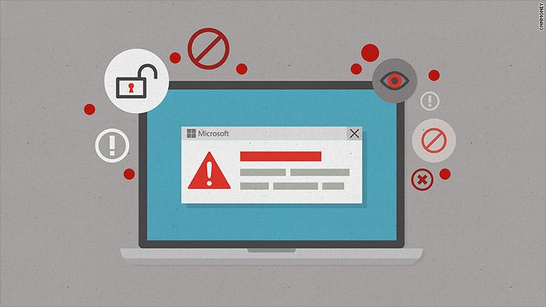 microsoft hacking alerts