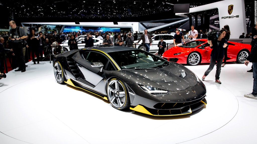 Meet the Centenario: Lamborghini's most powerful supercar