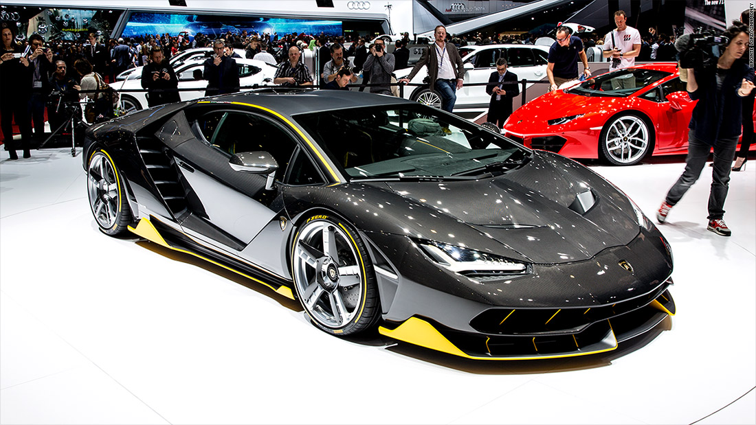 Lamborghini Centenario Cool Cars From The 2016 Geneva Motor Show