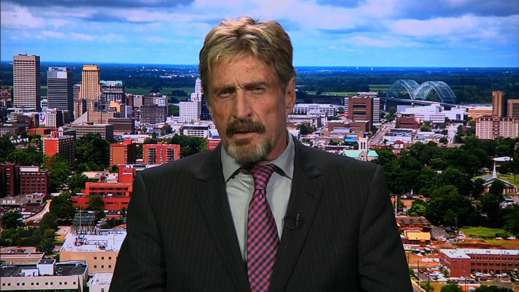 McAfee on Apple: We are all at risk if the FBI gets its way