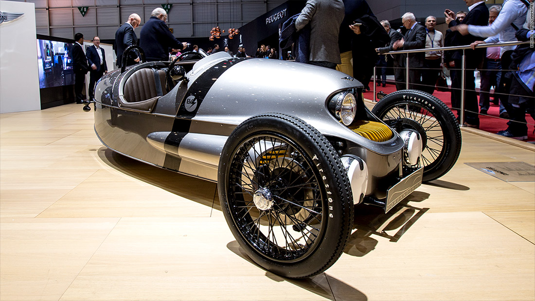 Morgan Ev3 Cool Cars From The 2016 Geneva Motor Show