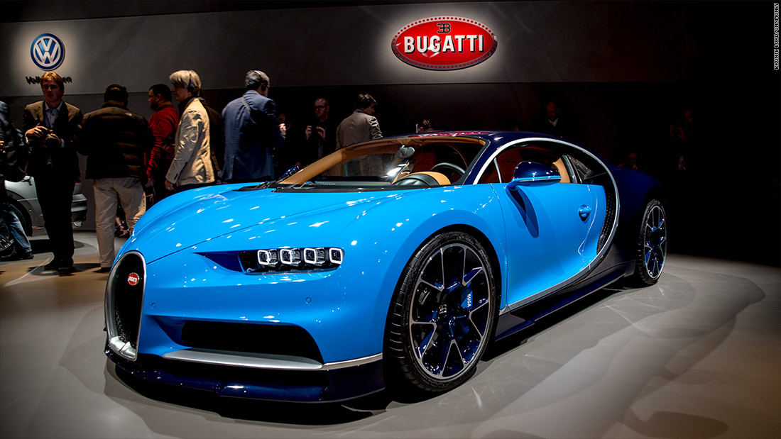 Bugatti Chiron - Cool cars from the 2016 Geneva Motor Show - CNNMoney