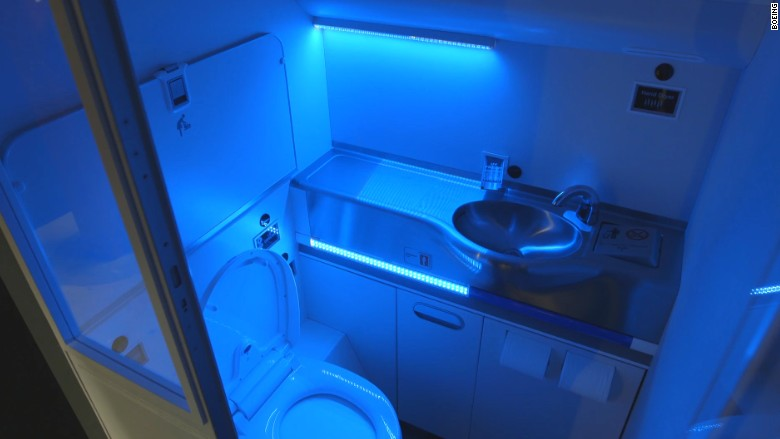Who S Ready For A Self Cleaning Airplane Bathroom