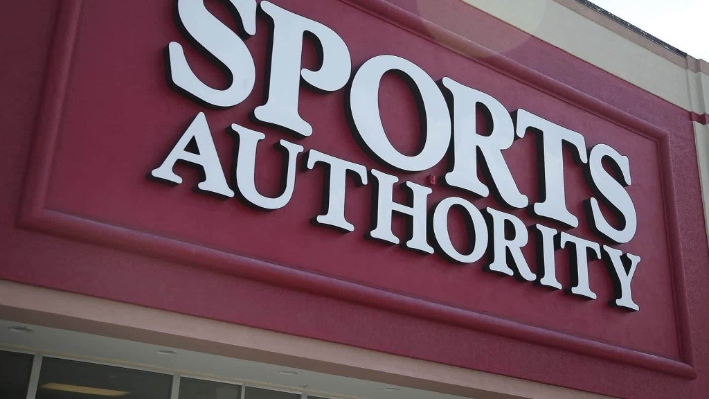 Bankrupt Sports Authority closing stores