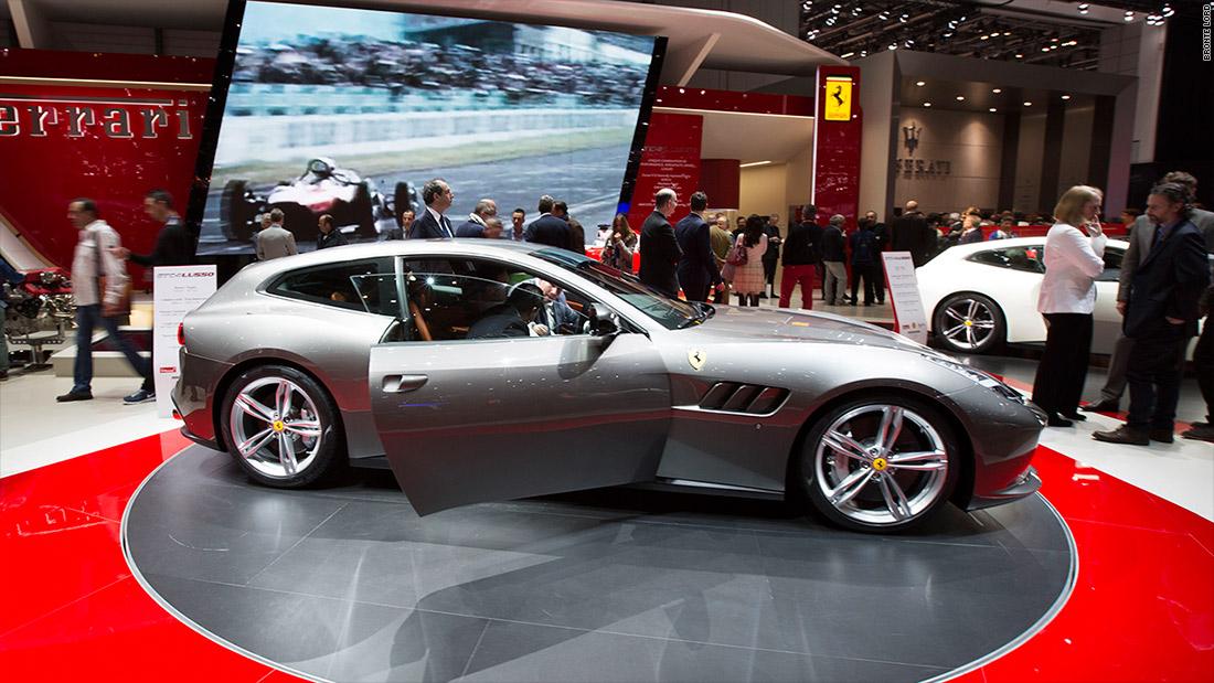 2016 Geneva Ferrari New